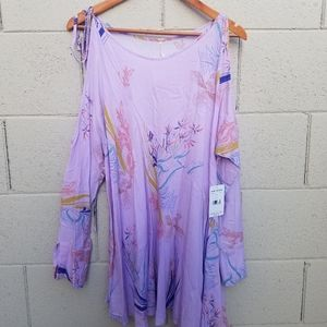 NWT Free People Clear Skies Floral Tunic